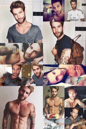 My super man crush monday.... I really love him :) :) Man With Tattoo Tattoo