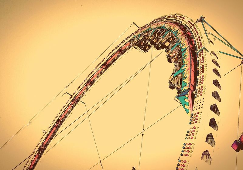 Done That. EyeEm Selects roller coaster People Done That Been There Fun In Sun Carnival Roller Coaster