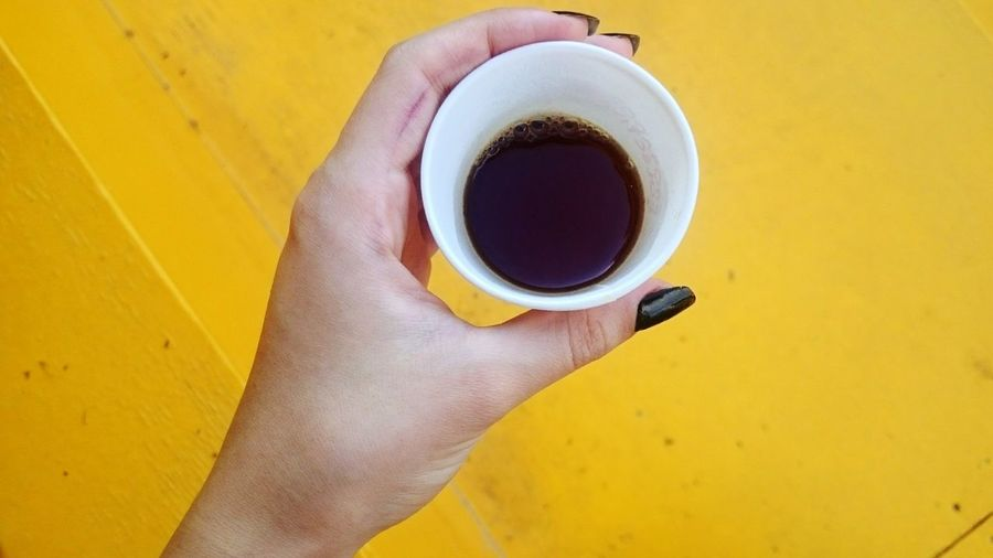 Coffeelovers Coffein Addict Details Photos DripCoffee Festival Istanbulcoffeefestival Istanbulcoffeefest Küçükçiftlik Park City Cityview Thirdwavecoffee V60 Hario Freshcoffee Natural Human Hand Low Section Drink Yellow Coffee - Drink Directly Above Cafe Coffee Cup Human Leg Close-up Yellow Background Black Coffee Coffee Nail Polish Beverage