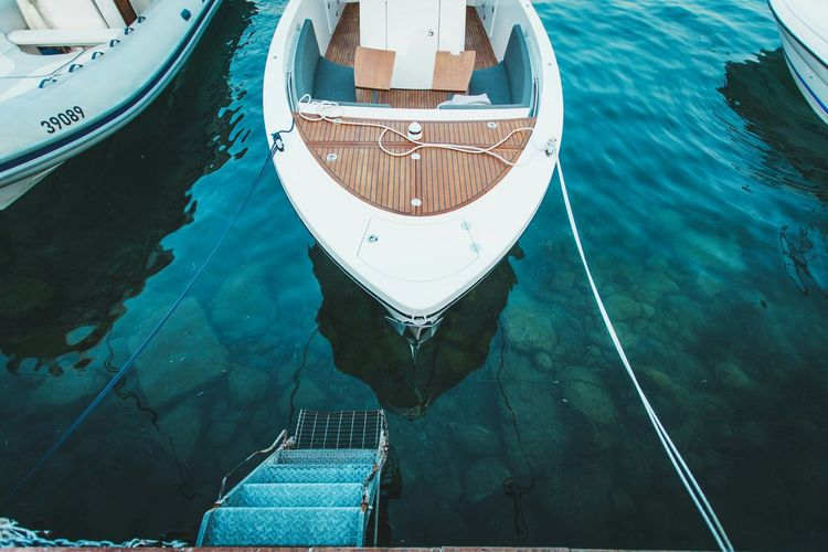 Water Nature Landscape See Blue Traveling Italy Summer Boat