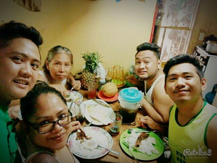 Family lunch!!! Lunch Complete Love Restday Grilledpork Contentment Happiness ♡