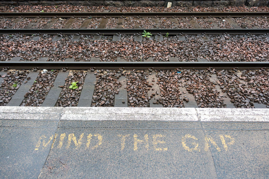 Mind the Gap. Showcase: December Mind The Gap Travel Travel Photography Travelationship Railroad Tracks Wanderlust