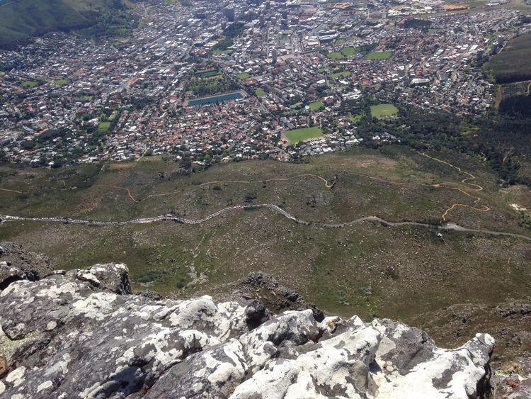 Looking Down Tafelberg