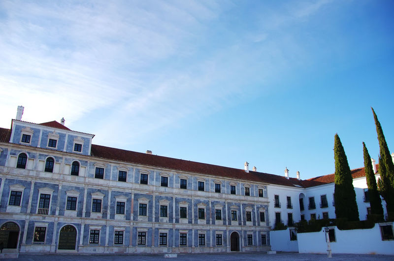 Ducal Palace of Vila Vicosa, Portugal Architecture Building Exterior Built Structure City Ducal Palace Low Angle View Sky Travel Destinations Vila Vicosa Vila Vicosa, Portugal