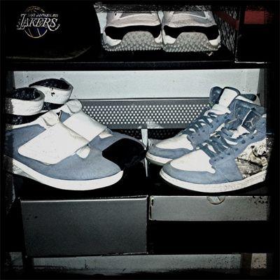 Jordan xx-west coast & Jordan 1-baby blue