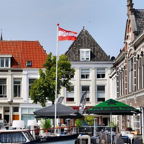 De Leidse vlag. Leiden Flag