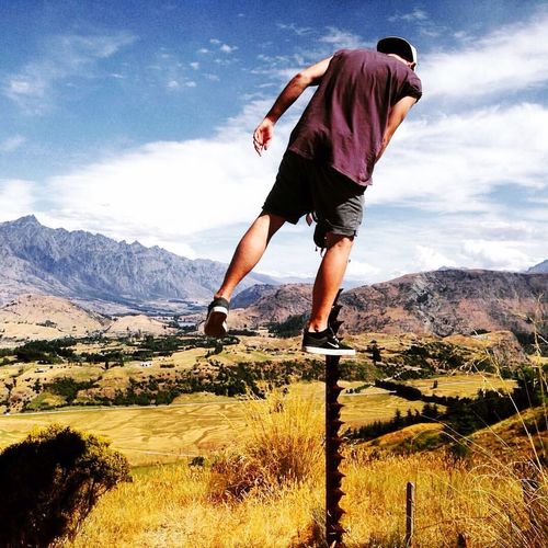 Summer OurWayOfLife Capturing Freedom Travel Photography Queenstown Newzealand Walking Around Traveling Choices Roadtrip