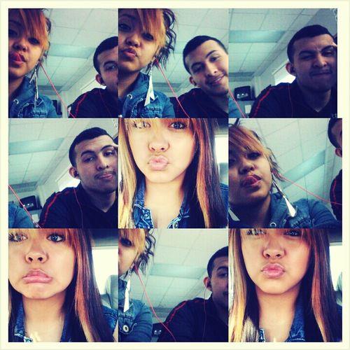 my boyfriend & I <3
