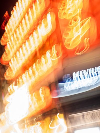 Osaka. Night live. Light. Night light. Osaka,Japan Osaka City OSAKA Night Nigth Ligths No People Orange Color Flame Indoors  Close-up Blurred Motion Motion Food And Drink Illuminated Still Life Fire Capture Tomorrow The Art Of Street Photography