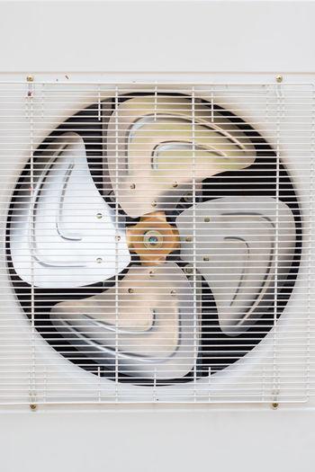 Close-Up Of Ventilator