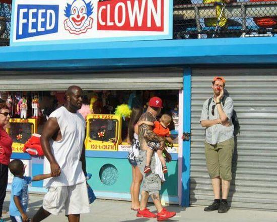 NYC Coneyisland Clown Clowns Streetphotography street