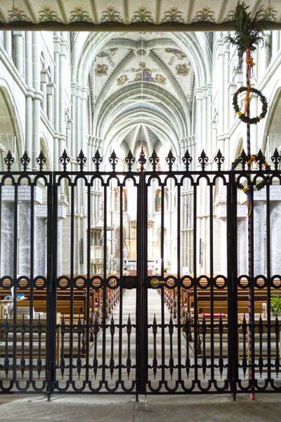 Not for everyone Church Bern LGV10 Closed Gate Religion Christianity Holy Locked Out