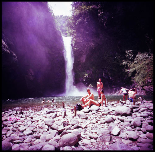 Madonna of Batad 120 Mm Adventure ASIA Backpacking Couple Feet Friends Fuji Girl With Veil Leisure Lomography Madonna Medium Format Nature Outdoors Pilgrims Provia Slide Summer Tappiya Waterfall The Great Outdoors - 2017 EyeEm Awards Travel Waterfall Waterfall In Mountain