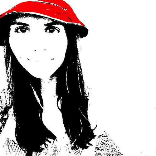 Красная шапочка. Bw People ArtWork Art Red