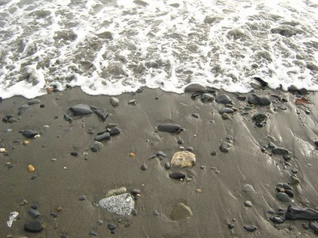 Beach Close-up Nature No People Outdoors Sand Sea Shore Shoreline Stones Water Wave Capture The Moment