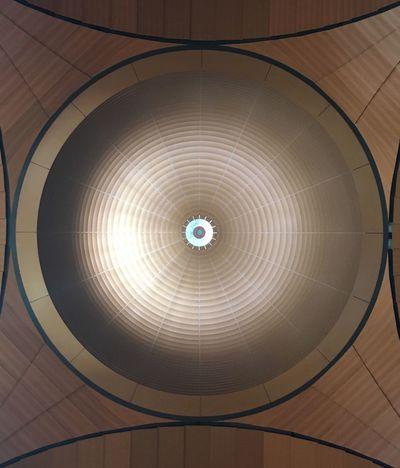 Ceiling Geometric Shape Circle Shape Indoors  Pattern