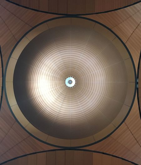 Ceiling Geometric Shape Circle Shape Indoors  Pattern