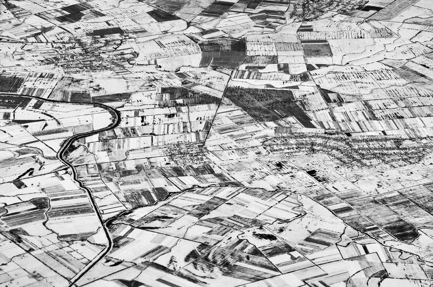 Winter scenery from above // Aerial view to a land which is covered by snow Aerial Aerial Photography Aerial Shot Aerial View Black & White Black And White Black And White Photography Blackandwhite Blackandwhite Photography Landscape Landscape_Collection Monochrome Monochrome Photography Nikon Nikon D300s Nikonphotography Scenery Snow Winter