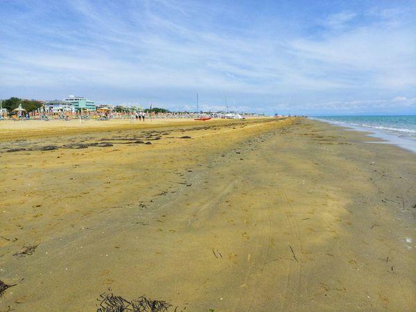Water Low Tide Sea Beach Sand Summer Wave City Sky Horizon Over Water