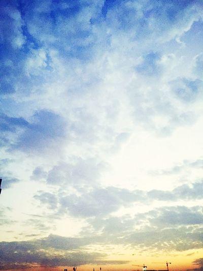 这是我想你的时候的天空