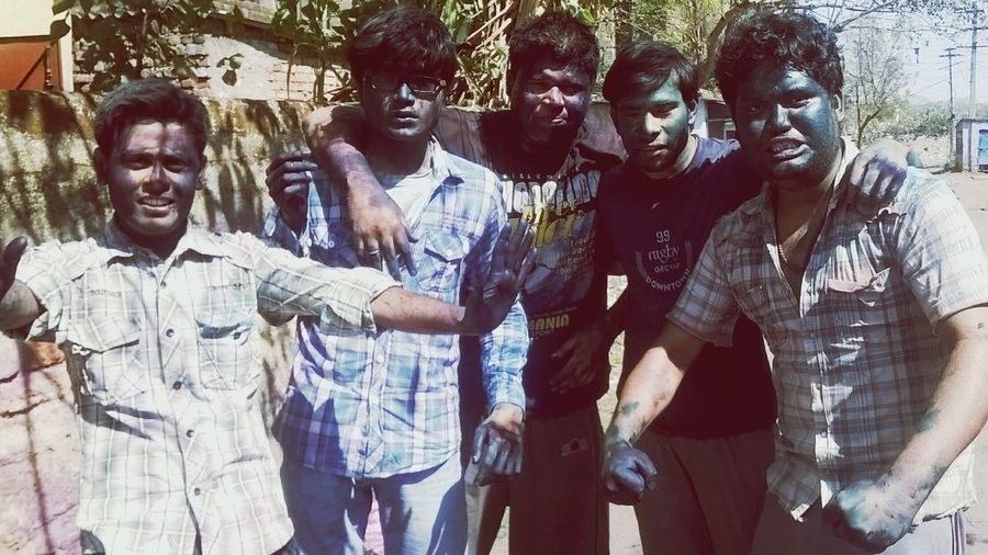 THESE Are My Friends Enjoying Life Holi Festival Of Colours Its Crazy Wild