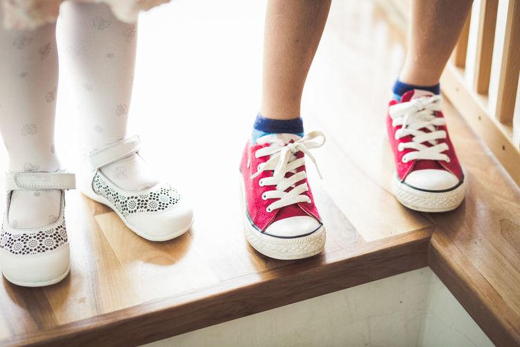 Siblings shoes
