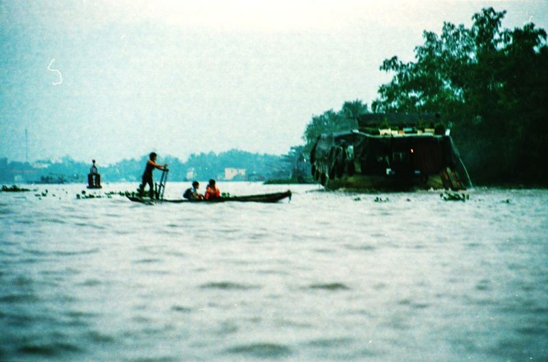 I've spent last December/January photographing Vietnam from North to South in film - while the final series is not going to be published for some time, I'm sharing here, some of my favourite extras that didn't make it to the final selection. Blurred Motion Dreamy Vietnam Rural Scene Real People ASIA Tropical River Film Photography Analogue Photography Adventure Men Winter Sport Canoe Paddling