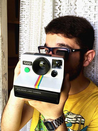 Polaroid Polaroid 1000 Self Portrait Polaroids Polaroid Art PolaroidSelfie!