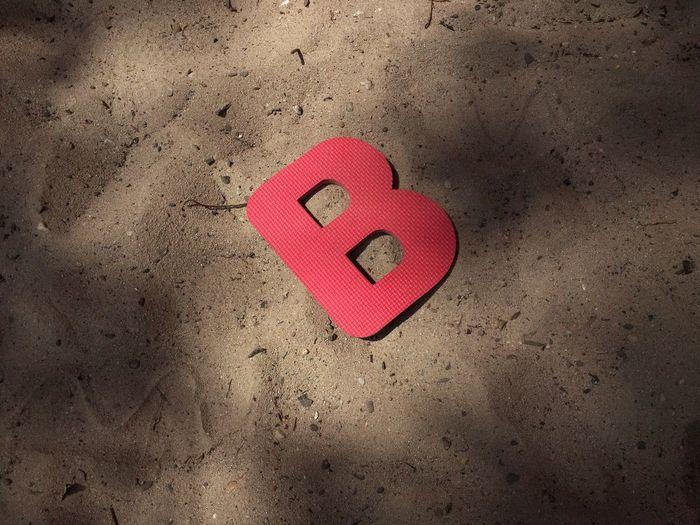 Alphabet Red