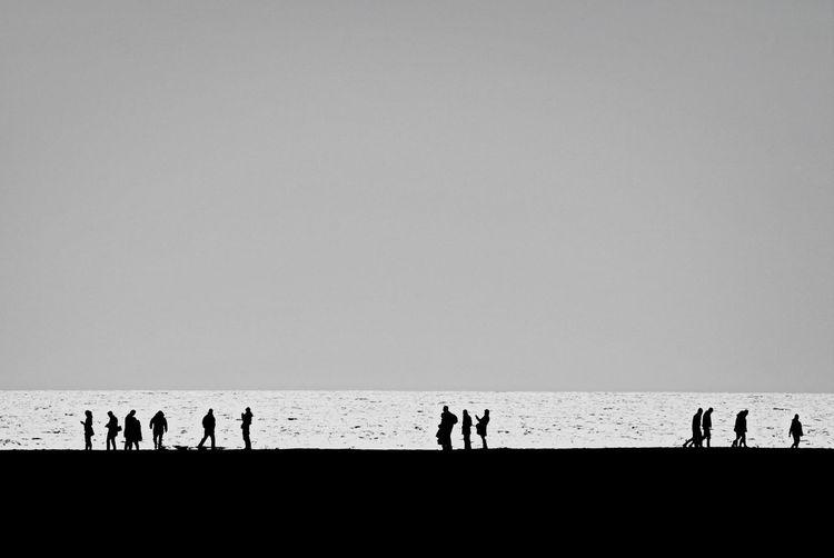 Familiar for shore EyeEm Best Shots Silhouette Eye4black&white  Light Up Your Life