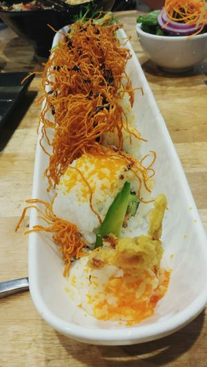 Soft shell crab sushi!! Is like a heaven... haha Sushi Softshellcrab Dinner Japanese Food