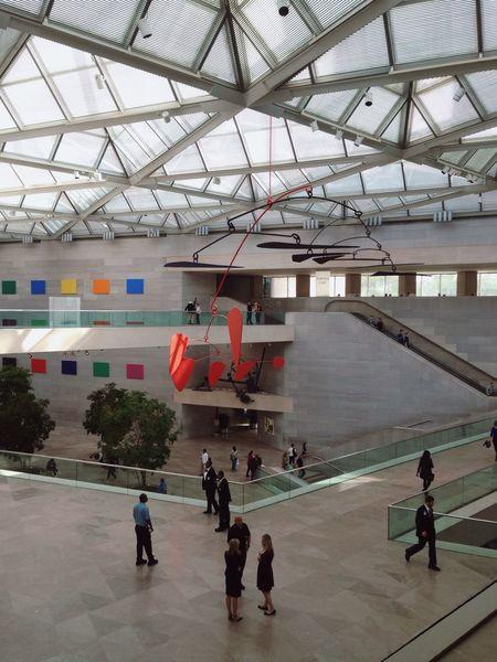 Alexander Calder Art Gallery Museum Washington, D. C. Museum Interiors