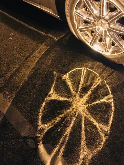High Angle View No People Illuminated Outdoors Shadows & Lights Hanging Out Taking Pictures Shiney Wheels Night