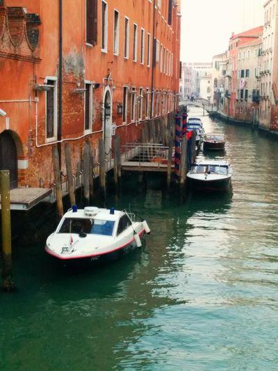 Venice, Italy Policeboat Police Boat