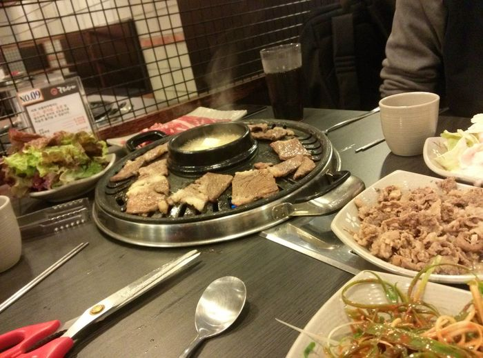 새벽 인데 고기가 먹고 싶어요== I want to eat meat (T^T) Hi! Hello World Yummy Food