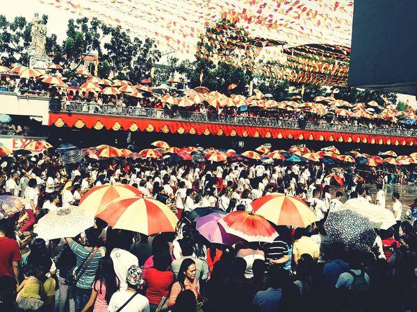 Asian Culture Sinulog Festival Sto. Niño Basilica First Eyeem Photo Enjoying Life