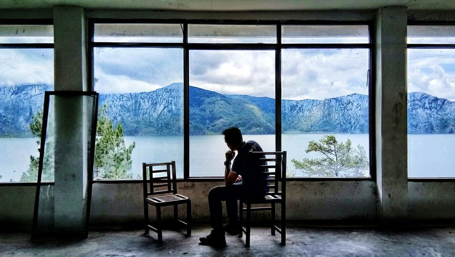 Danau Laut Tawar Windows Window View Chairs Seats Chair People People And Places. People And Nature Lake View Lake Lanscape Lanscape Photography Lauttawarlake Takengon  Mountain View Mountain Traditional Culture Destinations Aceh, Indonesia Culture And Tradition Sea And Sky
