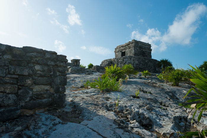 Tulum Ruins in Mexico Day Outdoors Ruins Sky Sky And Clouds Tropical Tropical Climate Tropical Paradise Tropical Plants Tulum Tulum , Rivera Maya. Tulum Ruins Tulum, Mexico Neighborhood Map