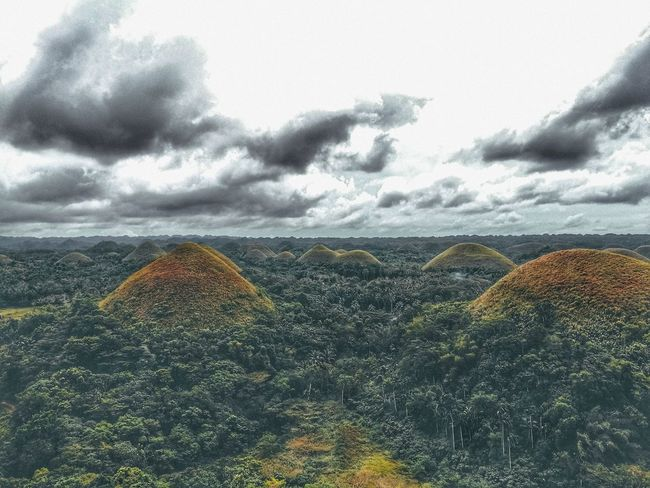 Bohol Philippines Chocolatehills Beauty In Nature Landscape Nature Mobilephotography Outdoors