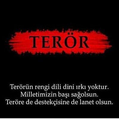 Terorulanetliyoruz Ankara Katliam Başımızsağolsun Terörelanetolsun