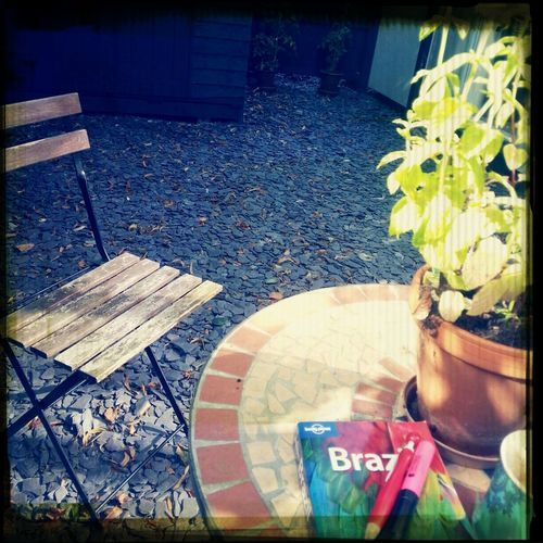 Breakfast Peace And Quiet Garden Planning A Trip