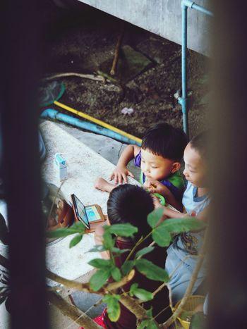 Koh Phangan Kids Kidsphotography Kids Being Kids Kids Playing Islandlife Thailand MobileGame