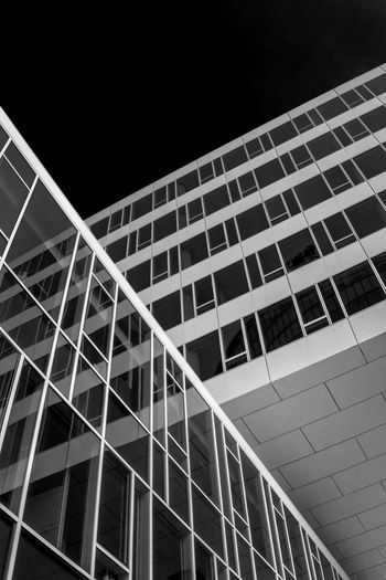 Architecture Architecture Blackandwhite Building Exterior Built Structure City Day Dramatic Low Angle View Modern Modern No People Outdoors Photo Photography Sky