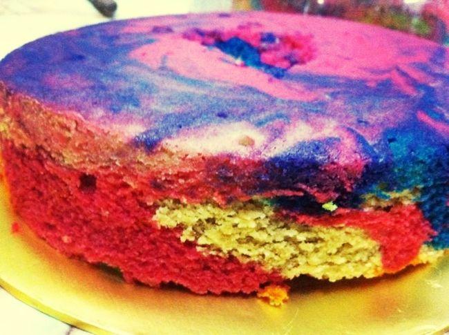 rainbow cake ????
