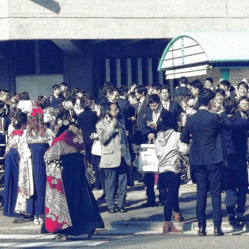 University Graduation Spring Biggest University in Tokyo and in Japan Streetphotography near Nippon Budokan EyeEm Gallery Eyeem Spring EyeEM Tokyo EyeEm Japan Eyeem Streetphotography