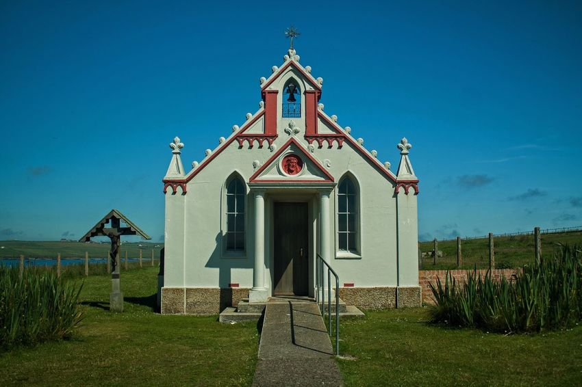 The Italian Chapel, Lambs Holm, Orkney, Scotland Italian Chapel Orkney Scotland Churches Architecture