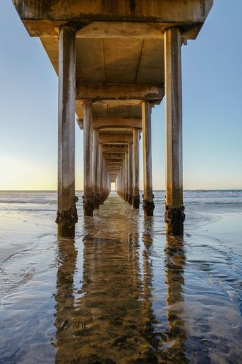 Wonderful afternoon in Scripps Pier in #SanDiego Sun Beach Ocean United States San Diego Water Sea Built Structure Sky Architecture Beach Land Horizon Over Water Architectural Column Horizon Nature Underneath Pier No People Below Scenics - Nature Waterfront Clear Sky Day My Best Photo
