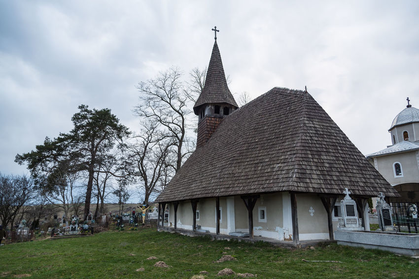 Hills Transylvania Trees Trip Wooden Church  Clouds Country Side History Isolated Village Old Church Sky Varciorog Village
