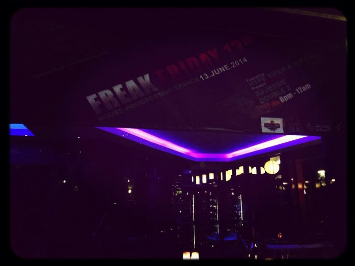 Freak Friday 13th @ Clique