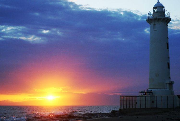 Seaside Sunset Sea And Sky Sun_collection Taking Photos EyeEm Best Shots Silhouette Sea